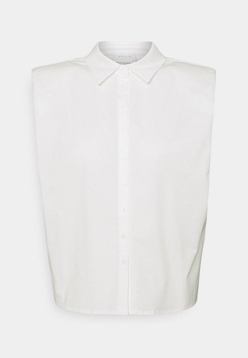 VILA PETITE - VIMELISA - Button-down blouse - snow white