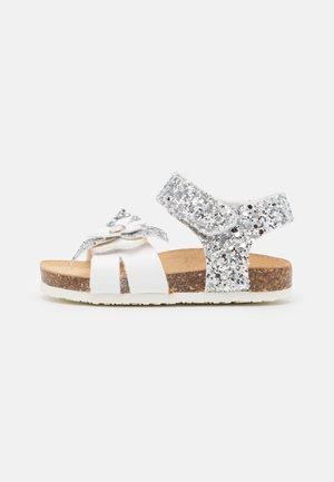 Sandali - bianco/argento