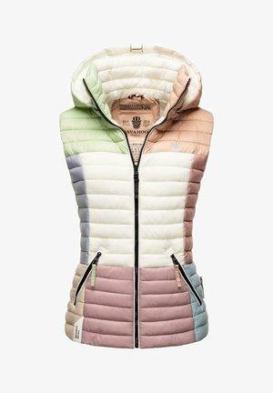STEPPWESTE SHADAA - Waistcoat - multicolour pastel