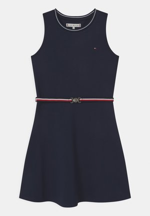 PUNTO MILANO SKATER  - Jersey dress - twilight navy