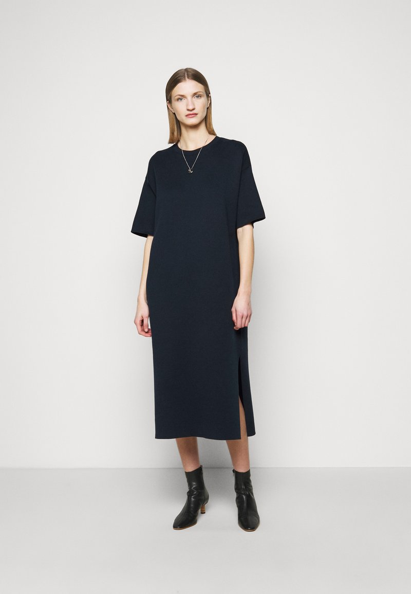 CLOSED - RUNA - Jumper dress - dark night