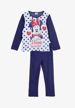 SET - Pyjama bottoms - dunkel-blau