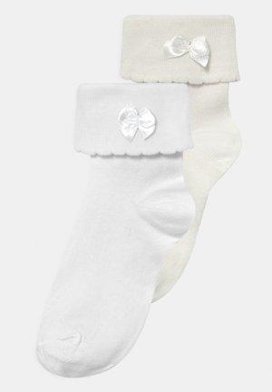 2 PACK - Socks - weiß/creme