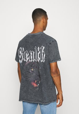 TEETH - Print T-shirt - black