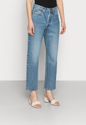Straight leg jeans - clean wash