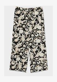 C&A - Trousers - black / beige - 3