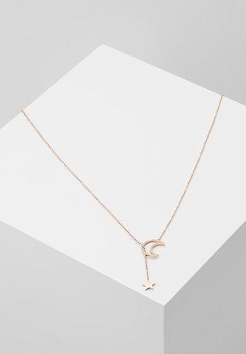 AMREI - Necklace - rosegold-coloured