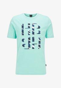 BOSS - TESSLER - Print T-shirt - open green - 3