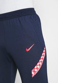 Nike Performance - KROATIEN DRY PANT - Voetbalshirt - Land - midnight navy/ligth crimson/ligth crimson - 3