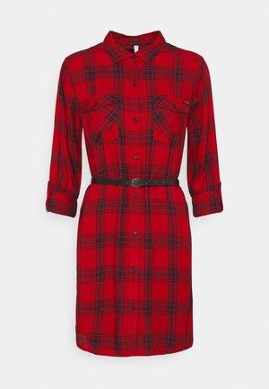 TERE - Shirt dress - red