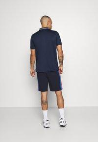Lacoste Sport - SHORT - Sportovní kraťasy - navy blue/marine/white - 2