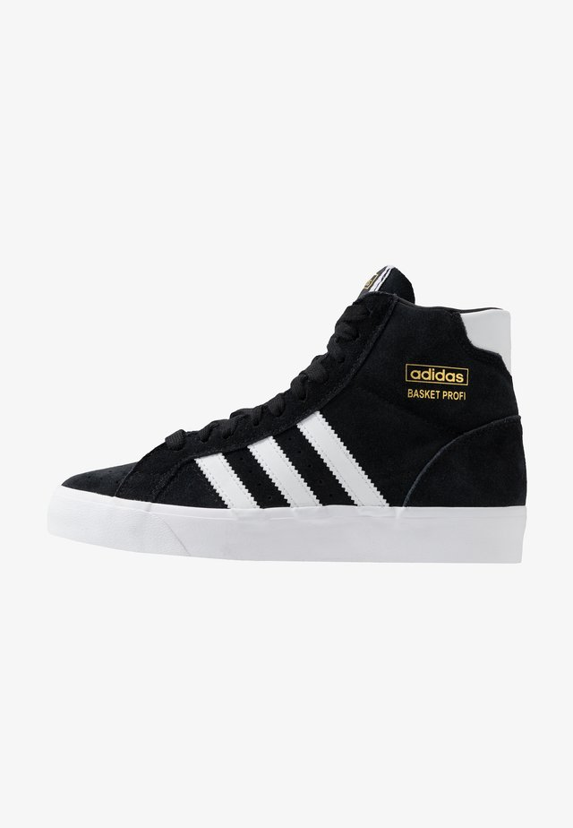 BASKET PROFI - Sneaker high - core black/footwear white/gold metallic
