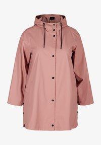 Zizzi - Waterproof jacket - rose - 3
