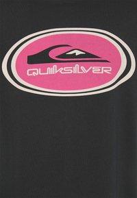 Quiksilver - OG REVERB SS - Print T-shirt - black - 2