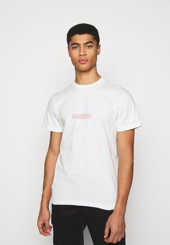 ARTWORK TEE - Print T-shirt - off-white