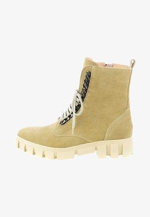 TRENTTE - Lace-up ankle boots - cognac