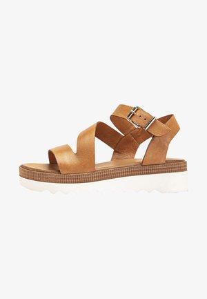 Platform sandals - coconut ccn