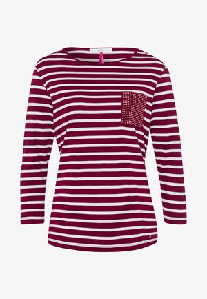 STYLE CLARA - Long sleeved top - cranberry