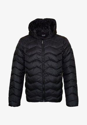 MIT KAPUZE WINT - Down jacket - black