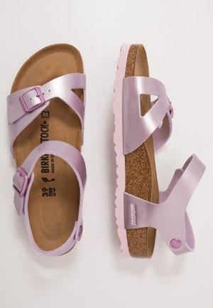 RIO - Sandals - electric metallic lilac