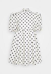 Missguided - SPOT PUFF SLEEVE DRESS - Robe d'été - cream - 0