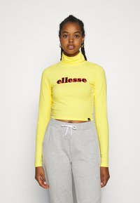 Ellesse - VORAN - Langærmede T-shirts - yellow - 0