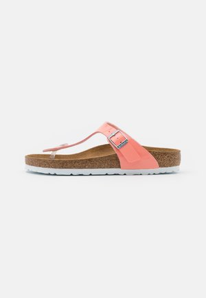 GIZEH - Slippers - coral peach