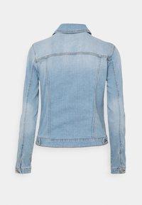 Springfield - CAZADORA - Jeansjakke - medium blue - 1