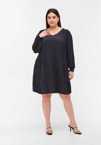 Zizzi - Day dress - dark grey - 1