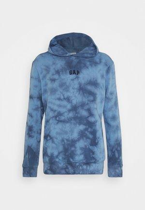 Sweatshirt - blue tie dye
