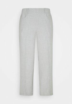 NANCI JILLIAN CULOTTE PANTS - Pantalones - light grey melange