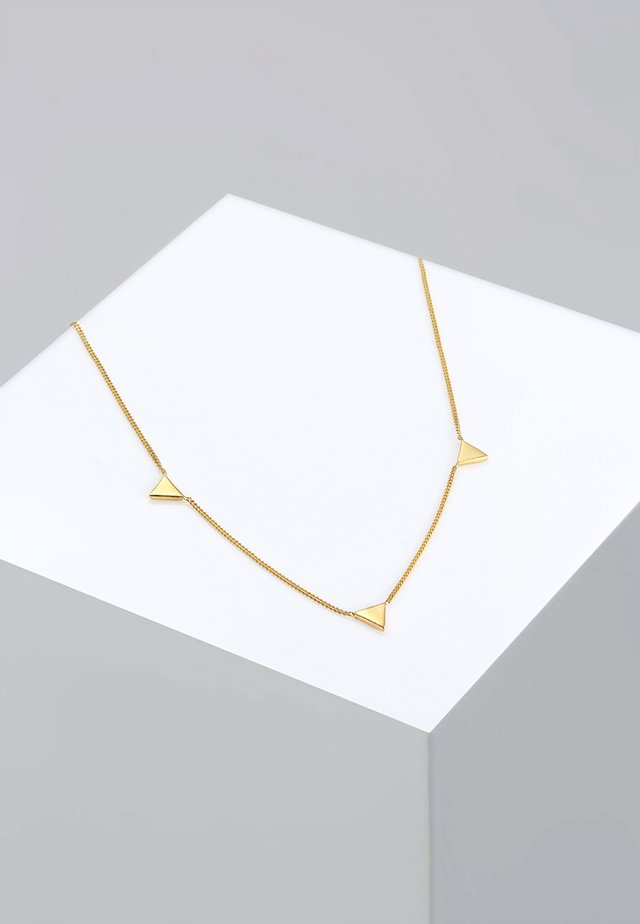 DREIECK - Náhrdelník - gold-coloured