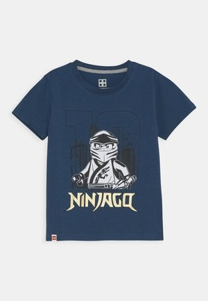 NINJAGO JUBILÄUM - Print T-shirt - dark dust blue