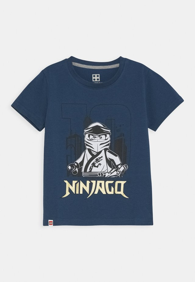 NINJAGO JUBILÄUM - T-Shirt print - dark dust blue