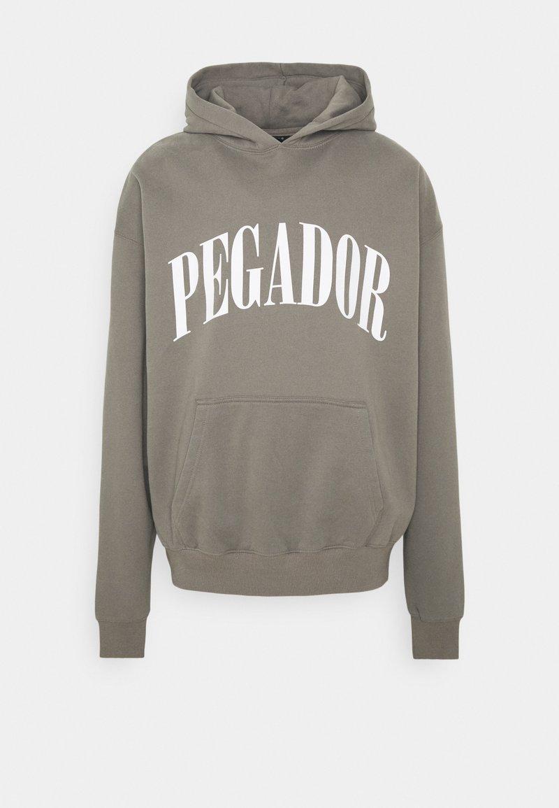 Pegador - CALI HOODIE UNISEX - Hoodie - washed frost grey
