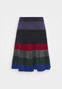 Victoria Beckham - STRIPED MINI SKIRT - Jupe trapèze - multi-coloured - 1