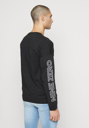 JCODOBBY TEE CREW NECK - Långärmad tröja - black