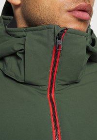 J.LINDEBERG - TRUULISKI - Lyžařská bunda - thyme green - 8