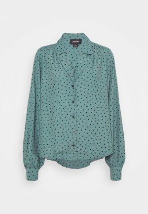 NATALIE BLOUSE - Button-down blouse - green