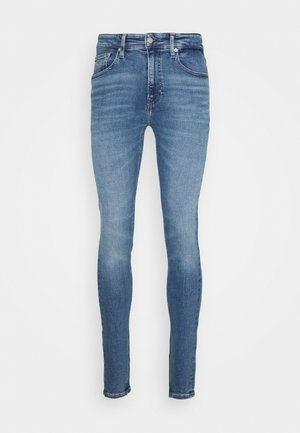 SUPER SKINNY - Jeans Skinny Fit - blue denim