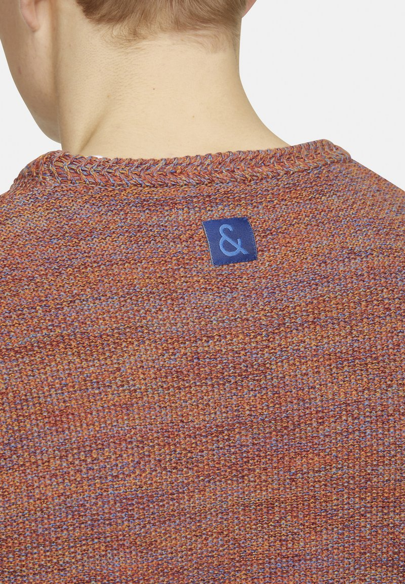 Colours & Sons Strickpullover - red/mehrfarbig O37gbe