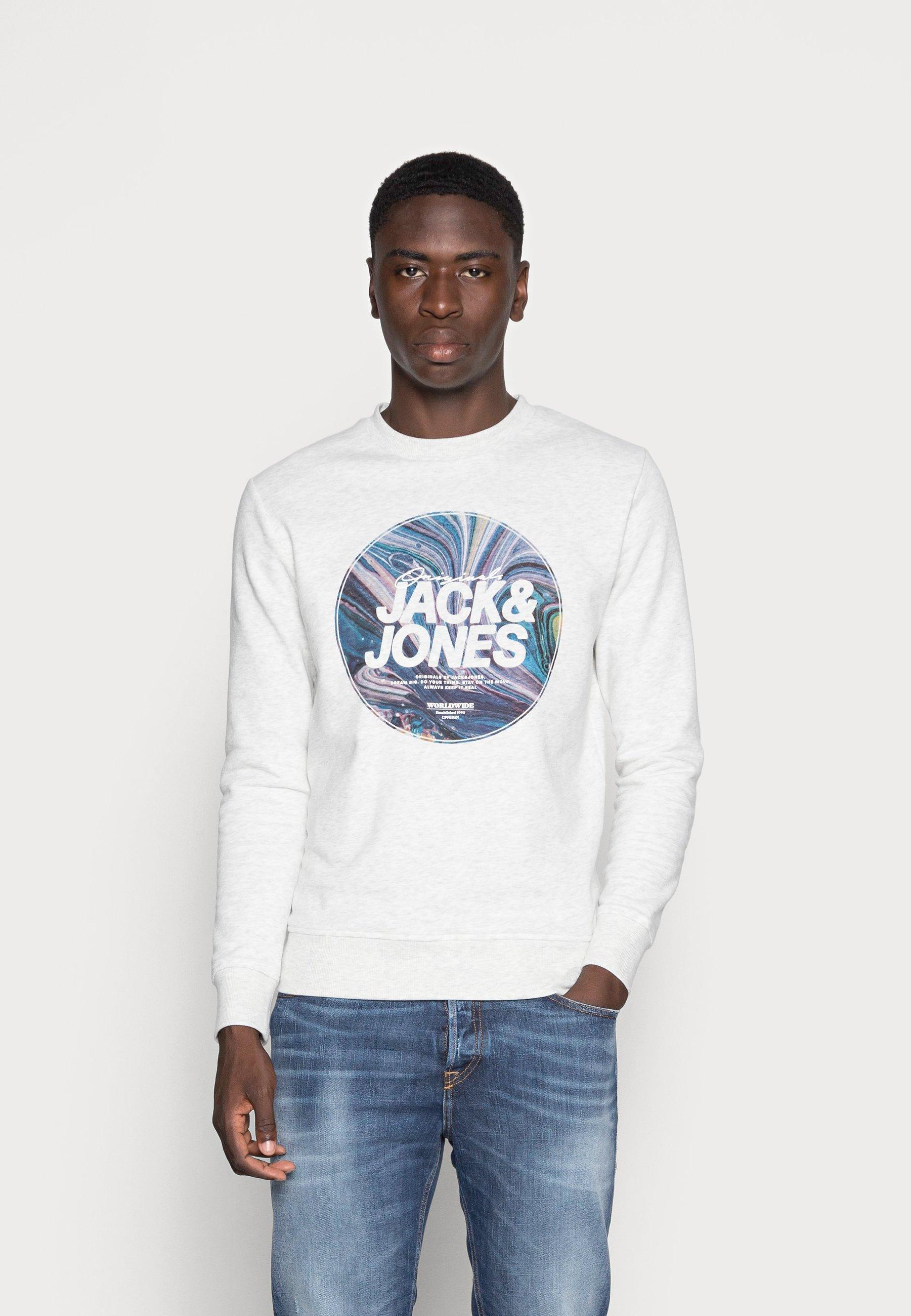Men SWIRL CREW NECK - Sweatshirt