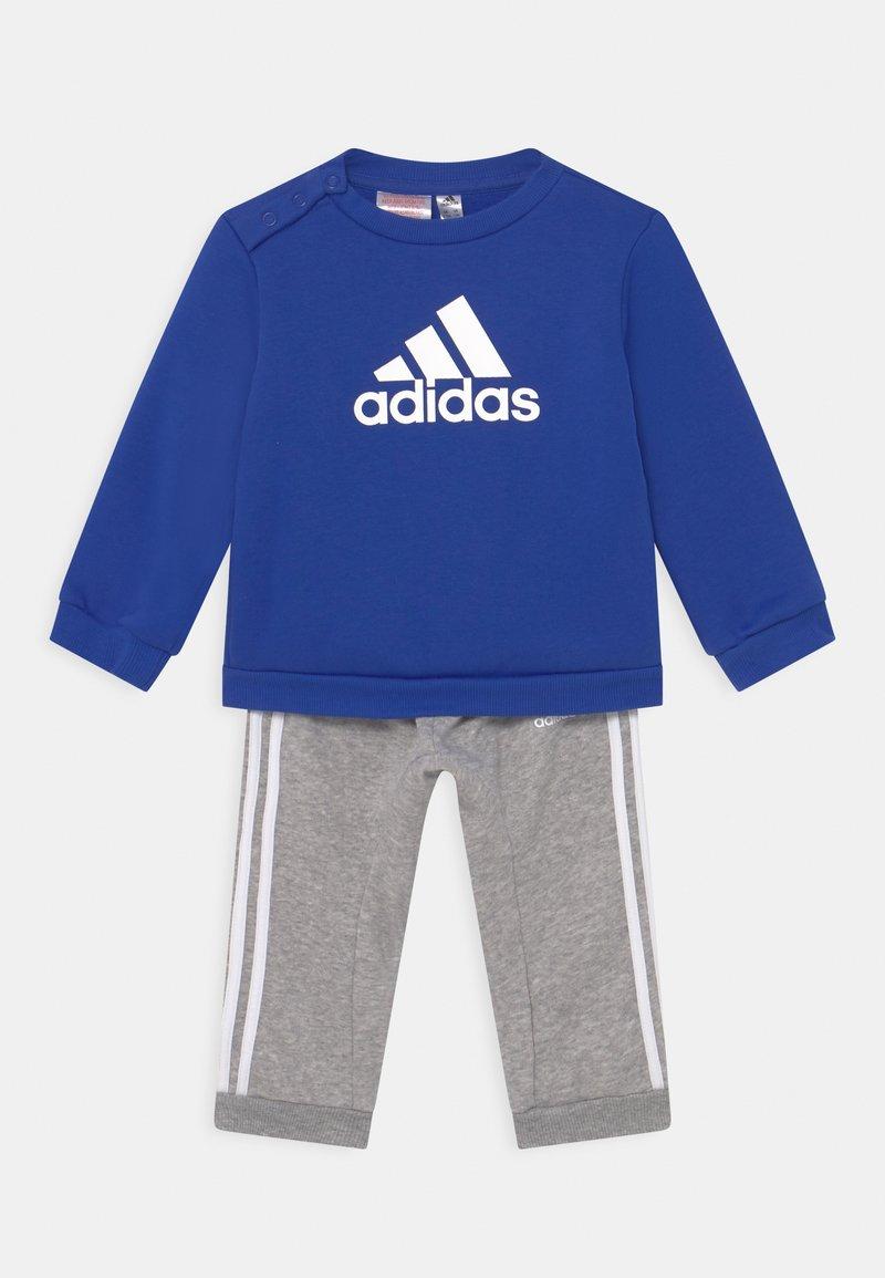 adidas Performance - LOGO SET UNISEX - Chándal - bold blue/medium grey heather/white