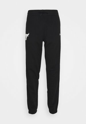 CHICAGO BULLS NBA FADE LOGO JOGGER - Tracksuit bottoms - black
