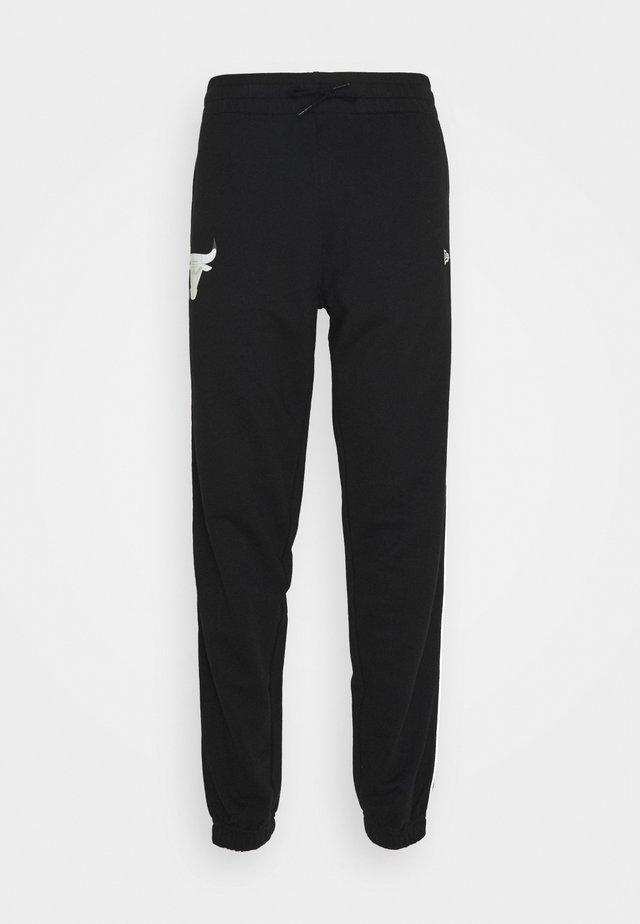 CHICAGO BULLS NBA FADE LOGO JOGGER - Pantalon de survêtement - black