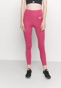 adidas Performance - Tights - wild pink/white - 0