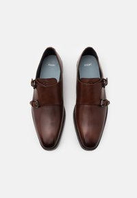 JOOP! - PHILEMON MONK LACE UP - Smart slip-ons - brown - 3