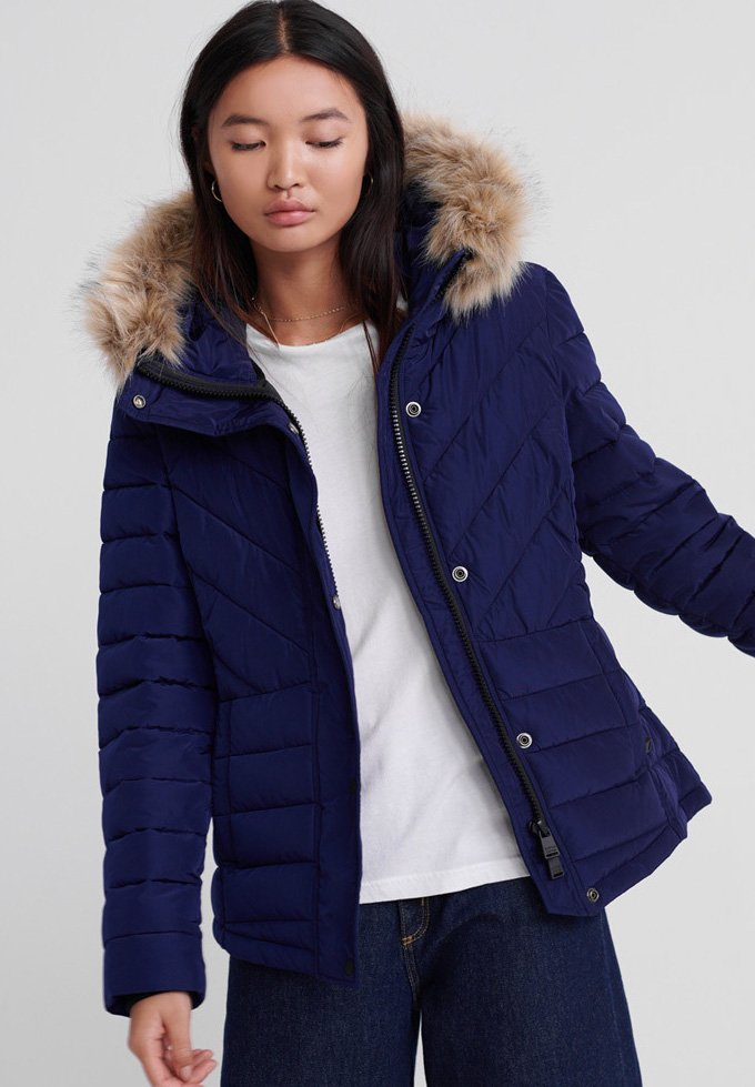 Superdry - GIACCA ICELANDIC  - Winter jacket - rich navy