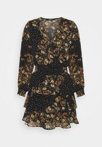 Gina Tricot - ALEXANDRA DRESS - Kjole - black - 0