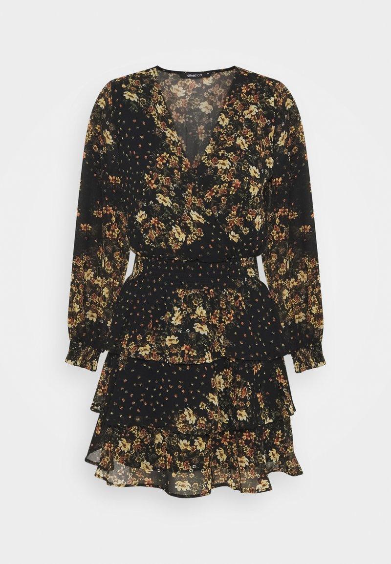 Gina Tricot - ALEXANDRA DRESS - Kjole - black